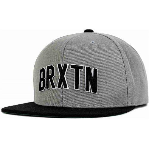 czapka z daszkiem BRIXTON - Hamilton Snap Back Light Grey/Black (0345) rozmiar: OS, kolor czarny
