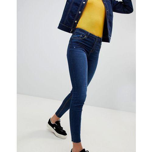 Stradivarius Regular Waist Skinny Jeans - Blue, z