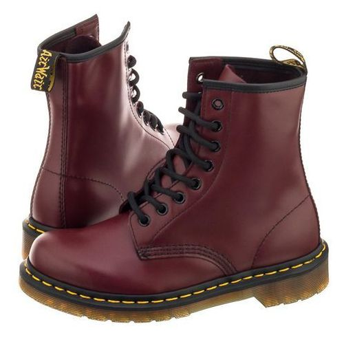 Glany Dr. Martens 1460 Cherry Red Smooth 10072600 (DR8-e), 10072600