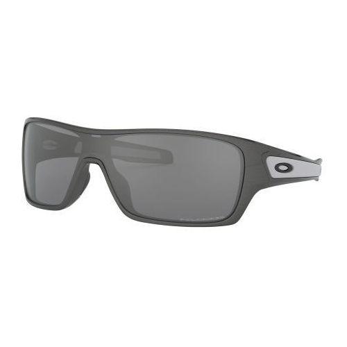 Okulary Oakley TURBINE ROTOR Granite Black Iridium Polarized OO9307-05, kolor czarny