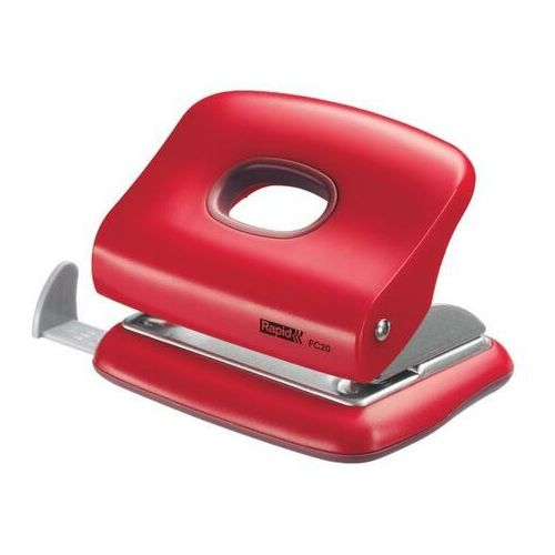 Rapid Dziurkacz mini fashion fc20 23256402 - czerwony (7313462564021)