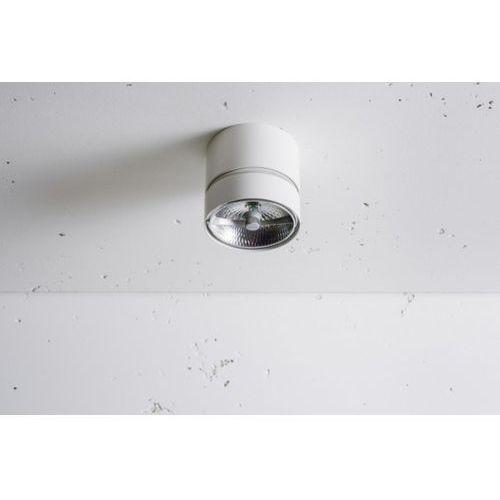 Lampa sufitowa geit biała żarówka led gratis! szybka realizacja, 3-0118b marki Labra