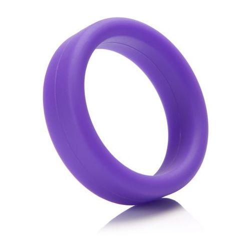 Tantus Mocno rozciągliwy pierścień miękki na penisa -  super soft c-ring fioletowy
