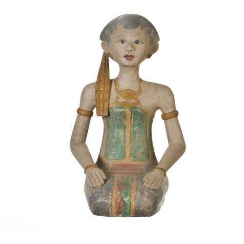 Dekoria figura muna postać klęczącej kobiety 17,5x27x50cm -30%, 17,5×27×10cm