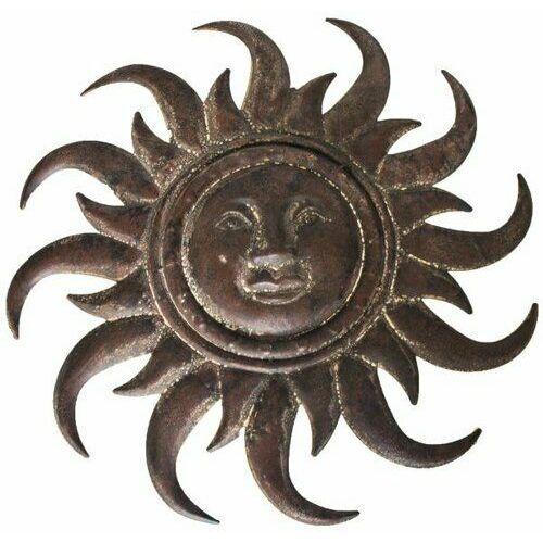 Dekoracja słońce na ścianę, śr. 50 cm (8595183318452)