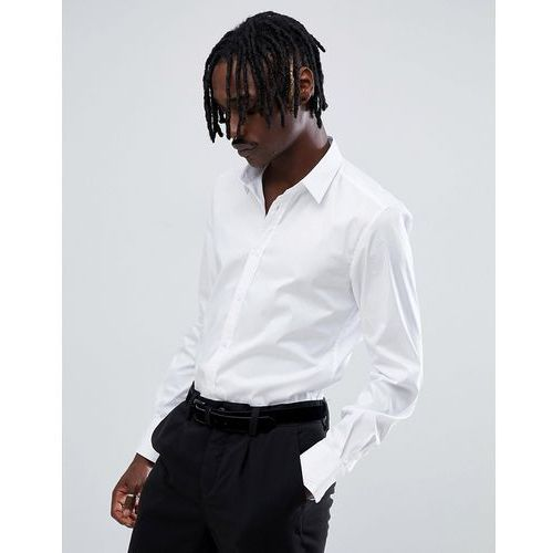 Antony Morato long sleeve smart shirt in white - White, w 5 rozmiarach