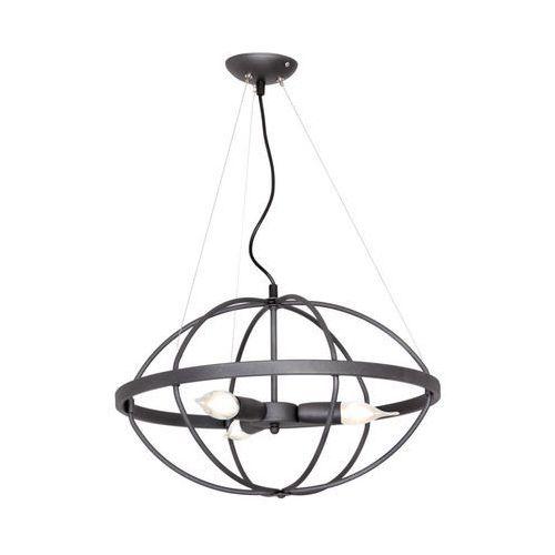 Lampa wisząca zwis żyrandol Aldex Kopernik 3x40W E14 szary 804E/21