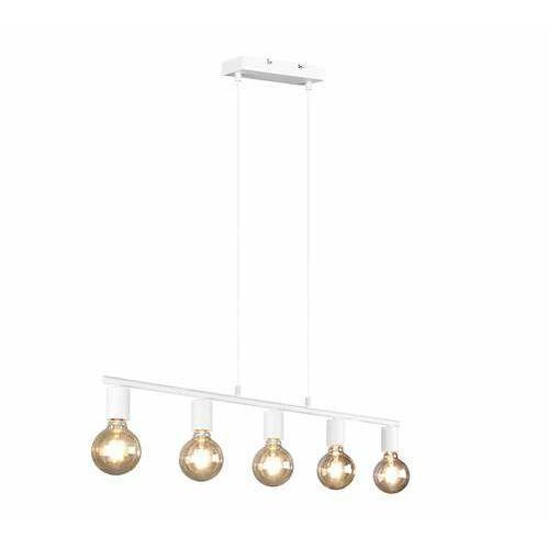Trio rl vannes r30185031 lampa wisząca zwis 5x40w e27 biała (4017807489170)
