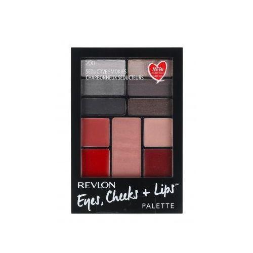 eyes, cheeks + lips zestaw 15,64 g paleta do makijażu dla kobiet 200 seductive smokies marki Revlon
