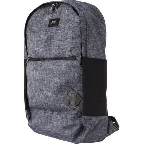 Vans van doren iii backpack pm1 heather black suiting - plecak miejski