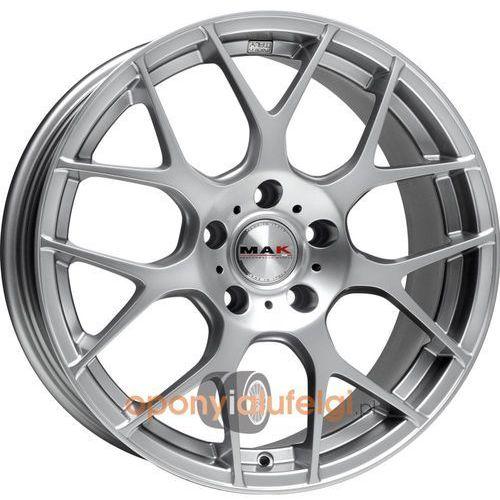 dtm-one hyper silver 8.50x19 bez otworówxk 5h et15, dot marki Mak