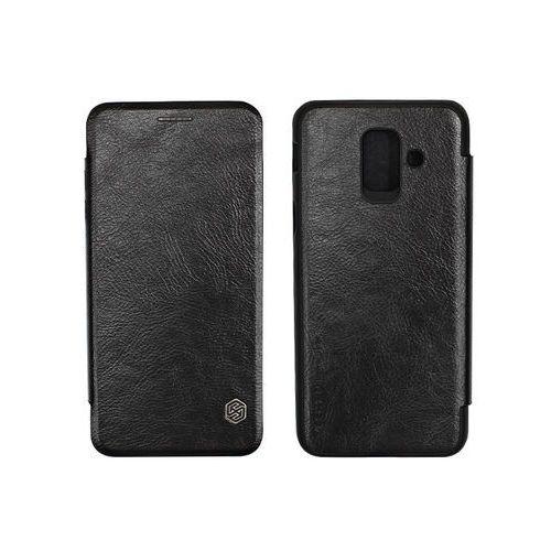 Samsung Galaxy A6 (2018) - etui na telefon Nillkin Qin - czarny, ETSM719NLQNBLK000