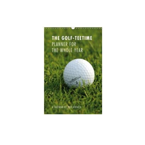 Golf-Teetime Planner for the Whole Year / UK-Version / Organizer 2018