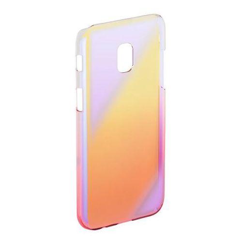 Etui HAMA Mirror do Samsung Galaxy J5 (2017) Żółto-różowy