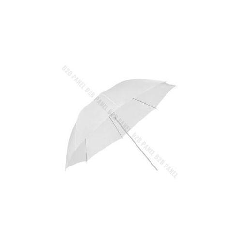 GlareOne Parasolka transparentna, biała, 100cm (5903175621061)