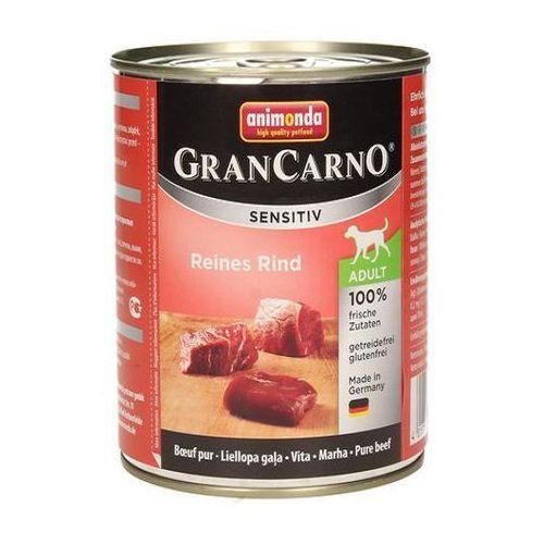 Animonda Grancarno Sensitive dla psów wrażliwych puszka 400g 8 smaków NOWOŚĆ