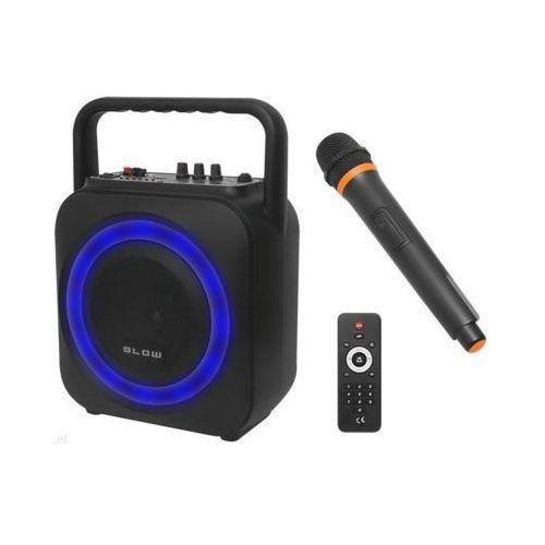 Głośnik przenośny bt800 z mikrofonem marki Blow