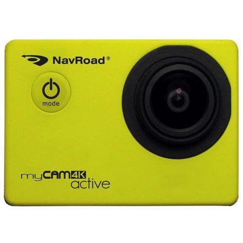 Navroad Kamera sportowa mycam 4k active żółty