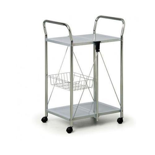 Składany wózek wielofunkcyjny, szaro-srebrny wyprodukowany przez B2b partner