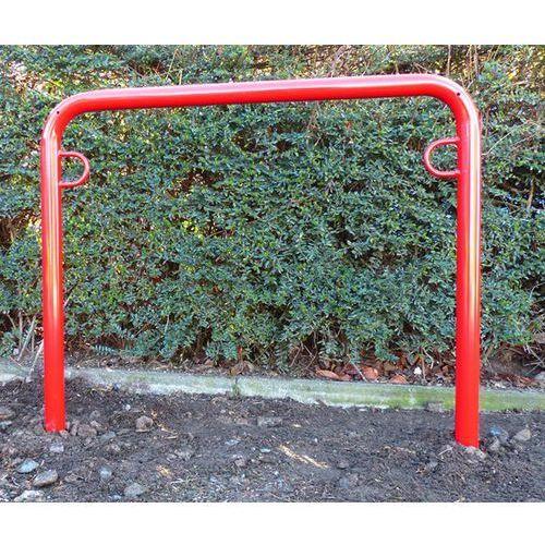 Pałąk wsporczy do rowerów, wys. 850 mm ponad podłożem, do wbetonowania, lakierow marki Melzer metallbau gmbh & co. kg