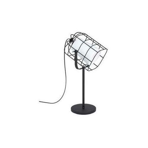 bittams 43421 lampa stołowa lampka 1x10w e27 czarna/biała marki Eglo