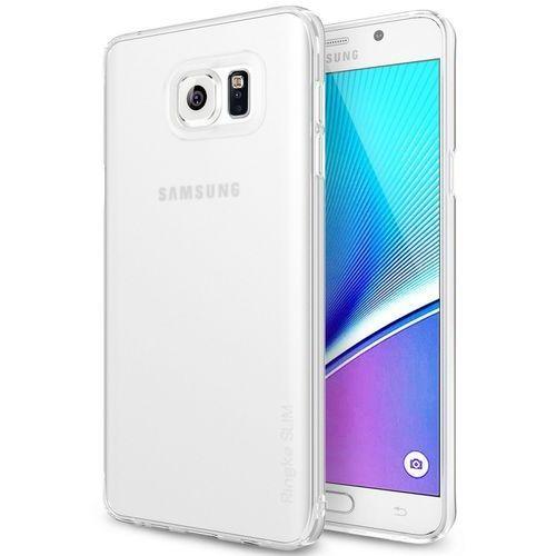 Etui Rearth Ringke Slim Frost Galaxy Note 5, białe (8809452175036)