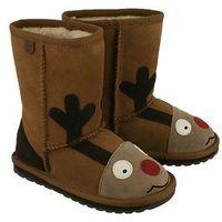 EMU AUSTRALIA K11356 Reindeer chestnut, kozaki dziecięce, rozmiary 24-29,5