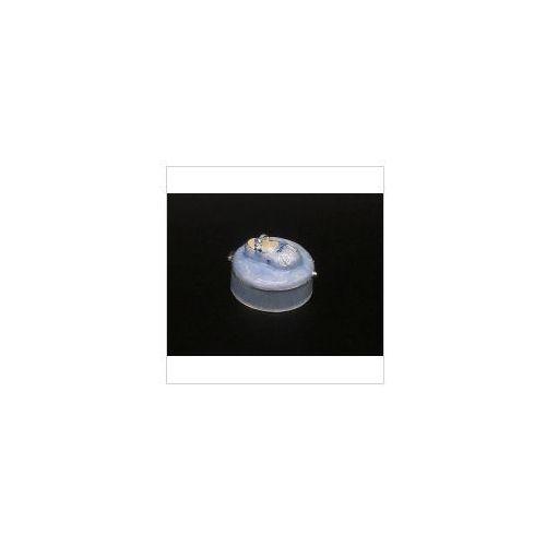 Szkatułka z bucikiem niebieska - chrzest - roczek - (at09053aa) marki Veronese
