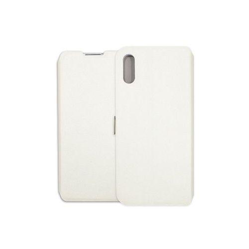 Huawei Y6 Pro (2019) - etui na telefon Wallet Book - biały, ETHW869WLBKWHT000