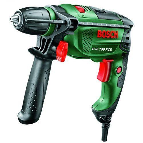 Bosch PSB 750 RCE [max prędkość obrotowa: 3000 obr/min]