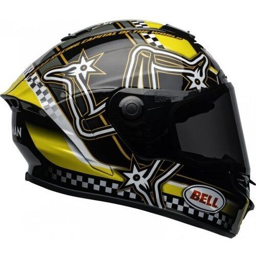 BELL KASK INTEGRALNY STAR DLX MIPS ISLE OF MAN B/Y