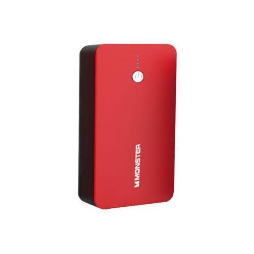 Monster mbl powerbank 10000 czerwony - bardzo szybkie ładowanie, duży zapas energii!!!