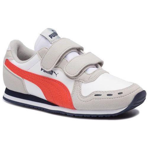 Sneakersy PUMA - Cabana Racer Sl V Ps 360732 76 Puma White/Gray Violet