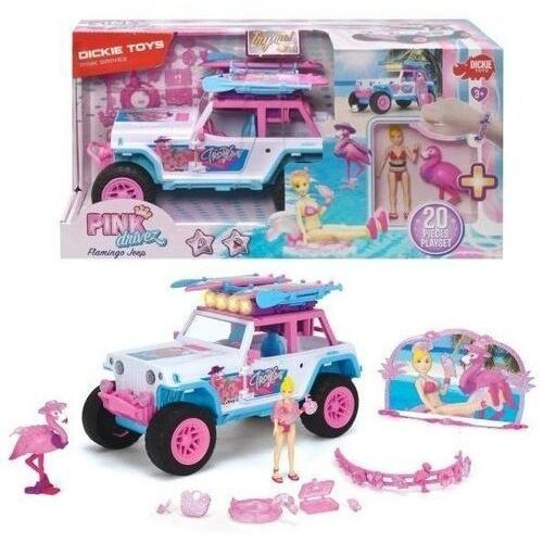 Playlife pinkdrivez flamingo jeep (4006333069888)