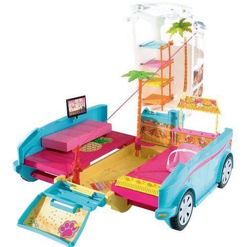 Barbie wakacyjny pojazd piesków dly33 marki Mattel