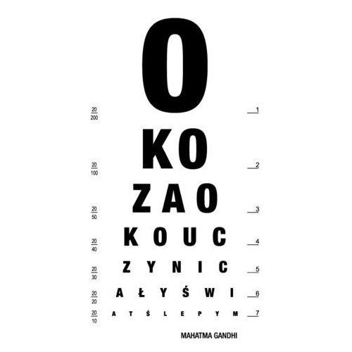 """Napis 11 """"oko za oko..."""" - naklejka na dowolną powierzchnię marki Szabloneria"""