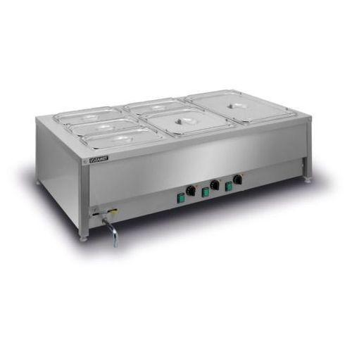 Bemar elektryczny stołowy 3xgn 1/1 200 mm bsn.3gn marki Lozamet