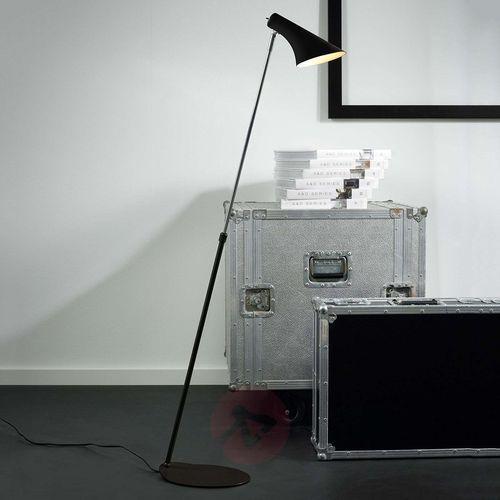 vanila lampa stojąca czarny, srebrny, 1-punktowy - nowoczesny - obszar wewnętrzny - vanila - czas dostawy: od 4-8 dni roboczych marki Nordlux