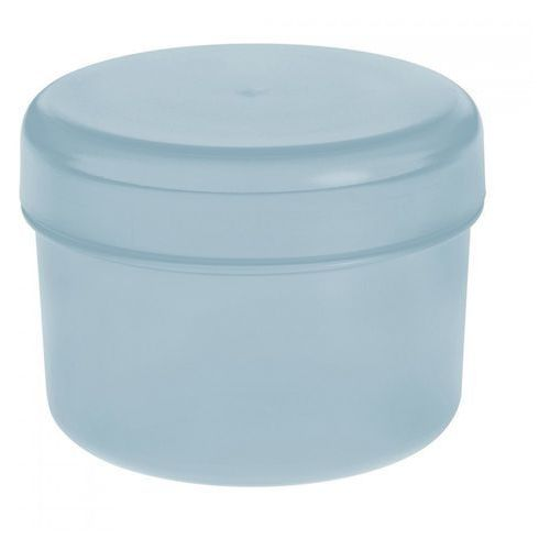 Pojemnik na patyczki kosmetyczne 10x8cm rio pastelowy błękit marki Koziol