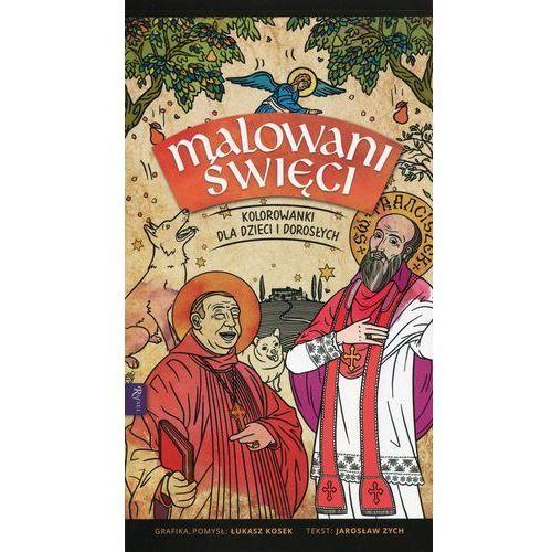 Rafael Malowani święci kolorowanki dla dzieci i dorosłych - praca zbiorowa (9788365889744)