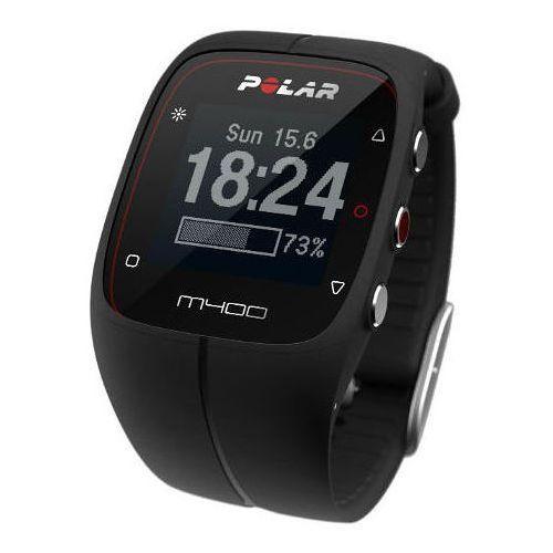 Polar m400 - zegarek sportowy z gps (czarny)