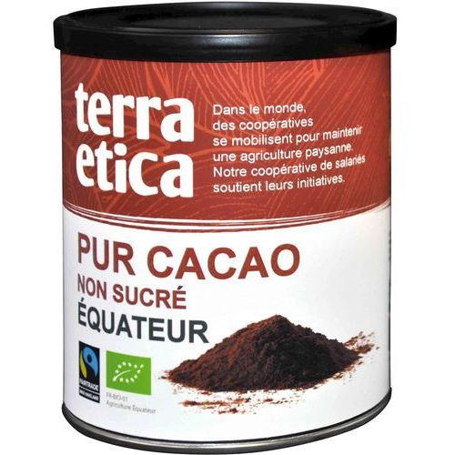 Kakao Fair Trade BIO 6 x 200g- Terra Etica -Cafe Michel, 3483981301620