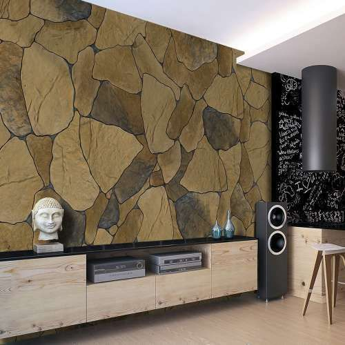 Artgeist Fototapeta - kamienne płatki, kategoria: kamień