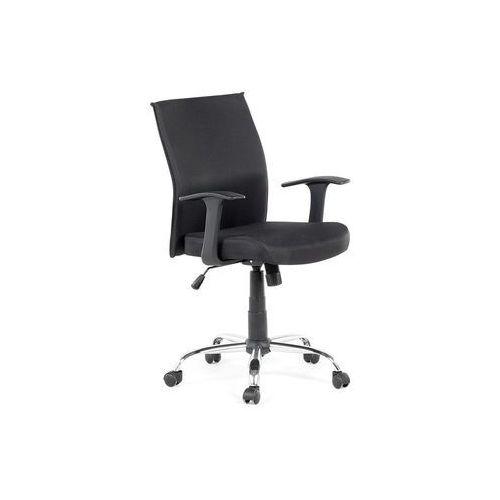 Krzesło biurowe - czarne - obrotowe - tapicerowane - do komputera - ELITE