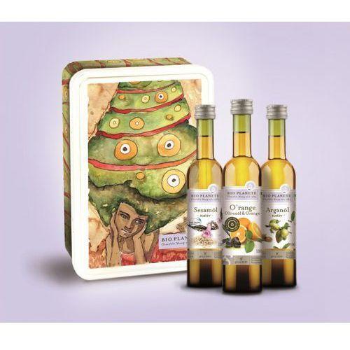 Zestaw prezentowy trzy oleje 3x100ml - BIO PLANETE