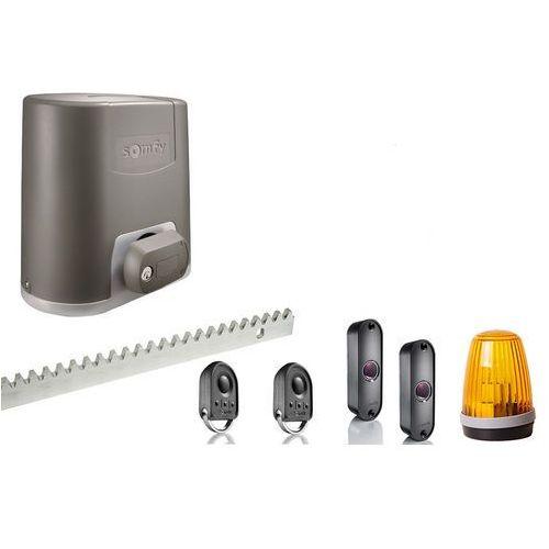 Somfy elixo 800 230v eco comfort pack 10 m/800 kg zestaw lampa fotokomórki 7 m listwy zębatej