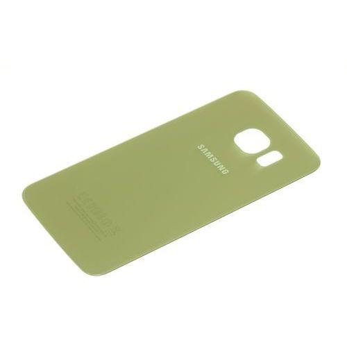 Samsung Klapka baterii galaxy s6 edge oryginalna grade a platinium gold - złoty / gold \ grade a