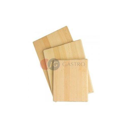 Deska drewniana gładka 250x300 mm 342250