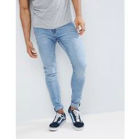Cheap Monday Him Spray Jeans Stone Bleach Wash - Blue, jeans