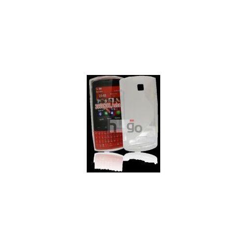 Futerał Back Case S-Line Nokia Asha 303 PRZEŹROCZYSTY, kolor Futerał